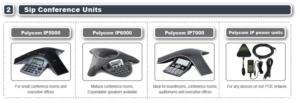 Conference handsets